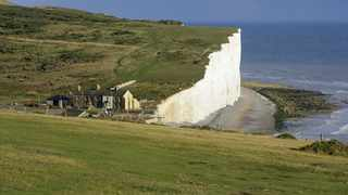 The white Seven Sisters cliffs have featured in dozens of films including Atonement and Harry Potter and the Goblet of Fire is slowly disappearing due to coastal erosion. Pic: National Trust