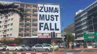 The writer says that he has not heard what those behind the Zuma Must Fall think must happen thereafter. Picture: Theolin Tembo