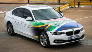 Thirty-five years and almost 1.2 million cars later, this is the last 3 Series sedan to be built at Rosslyn. Picture: BMW SA