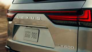 This is our first peek at the new-generation Lexus LX.