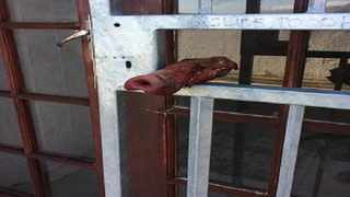 This pig snout was left at Simons Town mosque. Picture: Facebook
