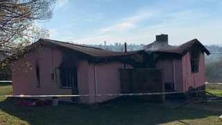 Three people died in a house fire in Umthatha in the Eastern Cape on Tuesday evening. Picture: Supplied