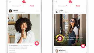 Tinder is launching new interactive ways to find love on its site. Picture: Bang Showbiz