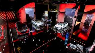 Tiny chips cast big shadow over the Munich car show this week. File picture: Mercedes-Benz AG. File picture: Mercedes-Benz AG.