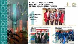 To encourage learners to pursue careers in economics the SA Reserve Bank created the Monetary Policy Committee Schools challenge. Image: Supplied.