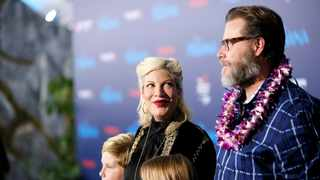 Tori Spelling and Dean McDermott. Picture: Reuters