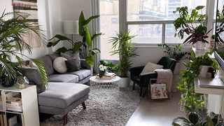 Transform a rental with a few budget friendly tricks. Picture: Instagram