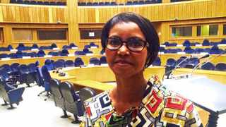 Treasure Maphanga, Director of Trade and Industry at the African Union Comission. Photo: African News Agency