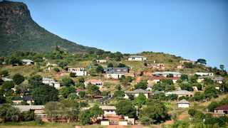 Tshirenzheni village just outside Makhado in Limpopo, where Lufuno Mavhunga lived. Picture: Thobile Mathonsi African News Agency (ANA)