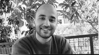 Tunisian doctor Badreddedine Aloui, 27, plunged to his death down an elevator shaft after the lift doors opened but with no elevator in place. Picture: Abdallah Kerkeni/Twitter