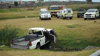 Two people died on the N2 in Cape Town when the bakkie they were in crashed into a ditch. Minister Fikile Mbalula has said 690 people have lost their lives on roads this festive season so far. Picture: Armand Hough African News Agency (ANA)