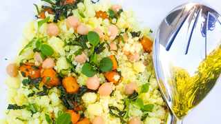 UPHUTHU salad by chef Zondi. Picture: Supplied