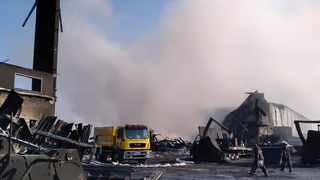 UPL consulted a doctor to assist those who were exposed to the warehouse fire in Cornubia when it was set alight last week. I eThekwini Municipality