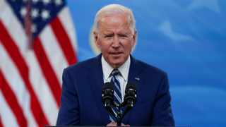 US President Joe Biden has voiced support for a waiver in a sharp reversal of the US's position. Picture: REUTERS/Jonathan Ernst