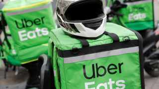 Uber Eats generated $4.8 billion (about R67.5bn) in revenue, citing the lockdowns of 2020, compared to $1.9bn in 2019. Picture: Reuters
