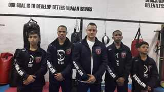 Umar Edwards, Heinrich Jacobs, Fidaah Edries, Terence Balelo and Toufeeq Khan. All of them will be representing the Western Cape at the MMASA Amateur Championship. Picture: Supplied.