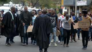 Unemployed graduates march to the Union Buildings to handover their memorandum under the campaign #HireAGraduate. That endemic corruption in South Africa has created strong push factors for skilled professionals and managers to seek opportunities else-where in the world. Photo: Thobile Mathonsi/African News Agency/ANA