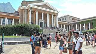 University of Cape Town is one of two institutions of higher learner in the Western Cape mulling over whether to mandate Covid-19 vaccines. Picture: Tracey Adams
