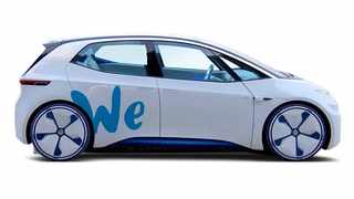 VW will launch electric car-sharing service in 2019 Photo: Facebook