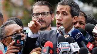 Venezuela's opposition leader Guaido attends a protest of the public transport sector against the government of Venezuela's President Nicolas Maduro in Caracas. Photo: Manaure Quintero/Reuters.