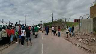 Verulam residents protested against the ongoing issue of water cuts in the area.