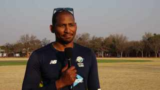 Victor Mpitsang, who is the youngest player to ever represent the Proteas, is the current SA U-19 convenor of selectors. Photo: screengrab from www.csamedia.co.za