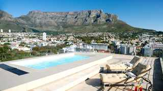 Views from the pool area in the Pepperclub Hotel and Spa. Photo: Supplied