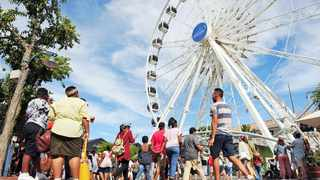 Visitors to the V&A Waterfront will get to experience the festive season differently this year. Picture: David Ritchie African News Agency (ANA)