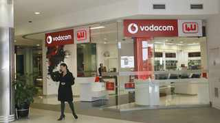 Vodacom yesterday reported a 6.4percent increase in South African service as demand for data spiked during the national Covid-19 lockdown. Picture: Leon Nicholas