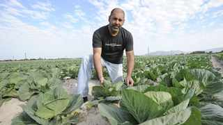 WATER-WISE: Nazeer Sonday, convener of the Philippi Horticultural Area Food & Farming Campaign, says the unique Cape Flats Aquifer should be better utilised as a priceless resource the citizens of Cape Town cannot afford to waste. Picture: Leon Lestrade
