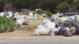 Waste pickers in Centurion. Picture: Jacques Naude/ANA