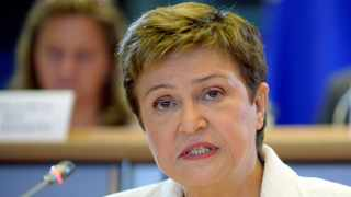'We're gathered here to reverse what has developed as a very dangerous divergence between advanced economies and developing countries, especially (in) Africa,' International Monetary Fund (IMF) chief Kristalina Georgieva said in opening remarks. Photo: File