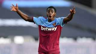 West Ham United's Jeremy Ngakia reacts during a Premier League game against WOlves. Photo: Justin Setterfield/Reuters