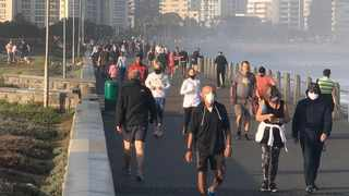 Western Cape Premier Alan Winde has expressed concern over the restricted exercise hours under Level 4 of the lockdown leading to high levels of congestion. Picture: Twitter