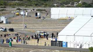 Western Cape cops are investigating the rape of 18-year-old girl, which occurred at the Strandfontein temporary shelter on Good Friday. Picture: Phando Jikelo/African News Agency(ANA)