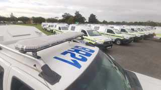 Western Cape police get new vehicles.