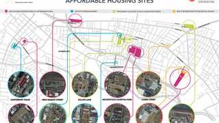 Where the City of Cape Town is building affordable and social housing. Picture: Supplied/City of Cape Town