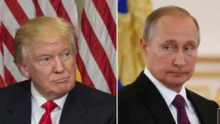 While US president Donald Trump does not want to concede defeat alleging election fraud, Russian President Vladmir Putin says whatever is happening in the US is none of his country's business. File Picture.