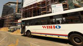 Wilson Bayly Holmes- Ovcon (WBHO) struggled with two loss-making projects in Australia and the Covid19 pandemic, and headline earnings per share fell by 200 percent. Picture: Simphiwe Mbokazi/African News Agency/ANA