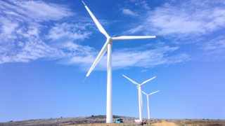 Wind energy is given the opportunity to play a leading role, and it is widely agreed that the country, as well as its economy and workforce, will benefit from a net-zero future. File photo.