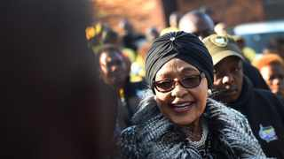 Winnie Madikizela-Mandela's family has welcomed the EFF's decision to name its Johannesburg headquarters after her, on what would have been the late struggle icon's 85th birthday on Sunday. Picture: Dumisani Sibeko