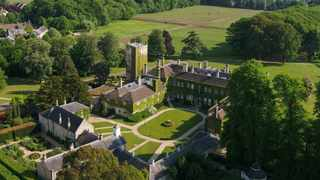 With a focus on social distancing, guests can savour in the views of the restored Palladian mansion as they ride through a long driveway to get to the English property.