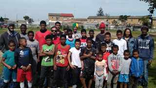 With his goal of providing the youth of Manenberg with more options than what was offered to them, Friedl Gertse established the Young Tornado Warriors Football Club. Picture: Supplied