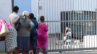 With social grant payments for the elderly and disabled paid out on Monday the 30 March 2020, some lockdown restrictions have been eased to accommodate thousands of South African citizens. At least 17 million beneficiaries across the country were expected to travel and queue for their payments. Picture: Leon Lestrade/African News Agency(ANA)