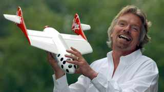With the historic flight to the edge of space on Sunday, astronaut Richard Branson has opened the doors for all humans to visit space. Picture: AP