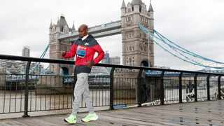 """""""You look up to these guys, you have to learn from the best, and I have learned from each race I've done,"""" said Mo Farah. Photo: Alastair Grant/AP"""