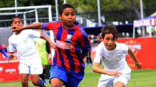 Young Steenberg soccer talent Mikaeel Atkins to tour Spain with SuperSport Junior Academy. Picture: Supplied