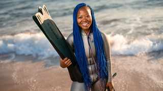 Zandile Ndlovu, founder of the Black Mermaid Foundation is set on breaking barriers and bring change to communities. Photo: Jacki Bruniquel