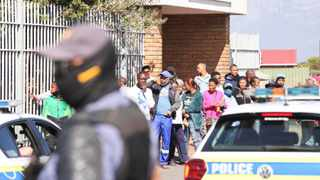Zane Killian appeared at the Bishop Lavis Magistrate's Court today. Picture: Leon Lestrade / African News Agency (ANA)