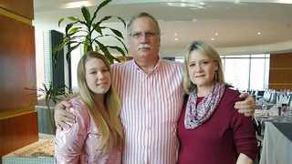 Zoë Freshwater and her parents Greg and Angela from Queensburgh in Durban succumbed to Covid-19 three days apart from each other in December. Picture: Facebook.